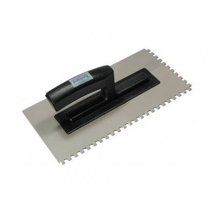 Plâtresse dentée en PVC 28 x 14 cm TOOLLAND
