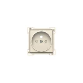 Enjoliveur pour prise de courant crème 28,5 mm NIKO