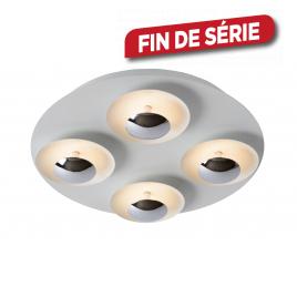 Plafonnier Amine LED 20 W Ø 36 cm dimmable LUCIDE