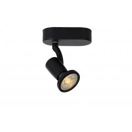 Spot Jaster LED GU10 LUCIDE - Noir - 1 lumière