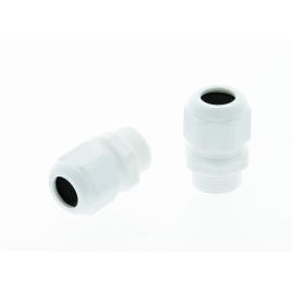 Presse-étoupe deux pièces en PVC