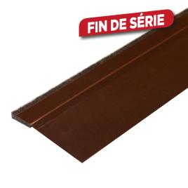 Bas de porte souple adhésif avec feutre 100 cm CONFORTEX - Brun