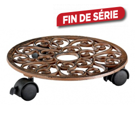 Support plantes rond 29 cm antique