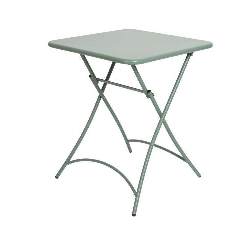 Table de jardin pliante Malmo 60 x 60 x 74 cm - Mr.Bricolage