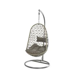 Fauteuil de jardin suspendu Bologna - Gris