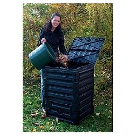 Composteur Eco Master 300 L noir GARANTIA