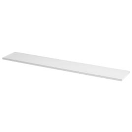 Tablette mélaminée blanche 80 x 20 x 1,8 cm CANDO