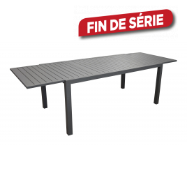 Table de jardin extensible Solem 178-268 x 100 x 74 cm