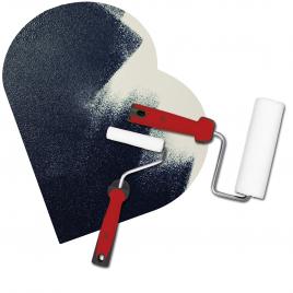 Rouleau laqueur pour la rénovation 5 mm V33