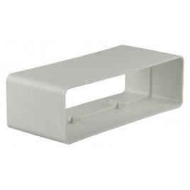 Raccord plat en PVC 110 x 55 mm RENSON