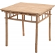 Table Bambou 78 x 78 x 74 cm