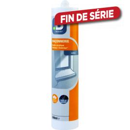 Mastic de maçonnerie acrylique 300 ml MR BRICOLAGE - Gris
