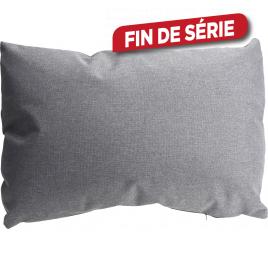 Coussin gris 60 x 45 cm