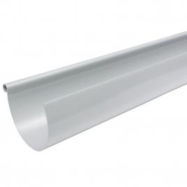 Gouttière en PVC gris 4 m - G125