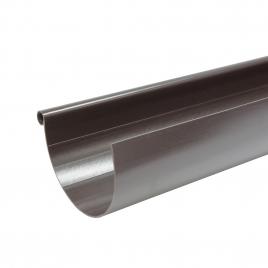 Gouttière G125 en PVC 4 m brun SCALA