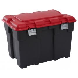 Box de rangement Explorer rouge et noir 185 L ALLIBERT