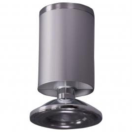 Pied de meuble en aluminium Ø 4,8 x 10 cm