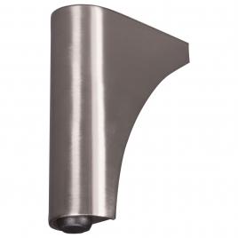 Pied de meuble ovale 3 x 7,5 x 10 cm