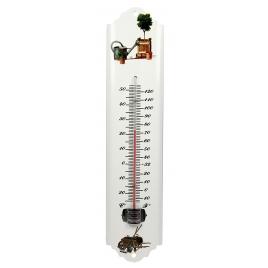Thermomètre extérieur en métal Jardinage