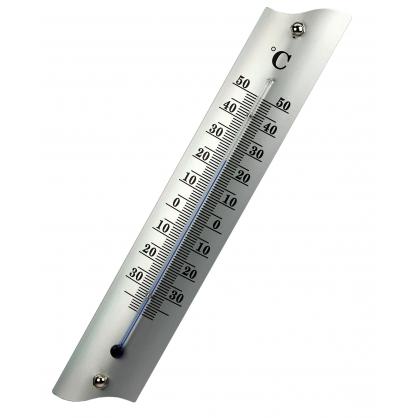 Thermomètre extérieur en métal