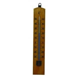 Thermomètre extérieur en bois