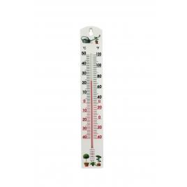 Thermomètre extérieur en PVC Jardinage