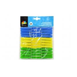 Pince à linge en plastique 24 pièces