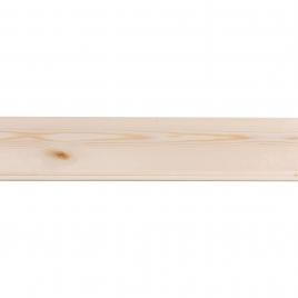 Lambris en bois de sapin blanc 270 x 8,8 x 0,75 cm 5 pièces CANDO