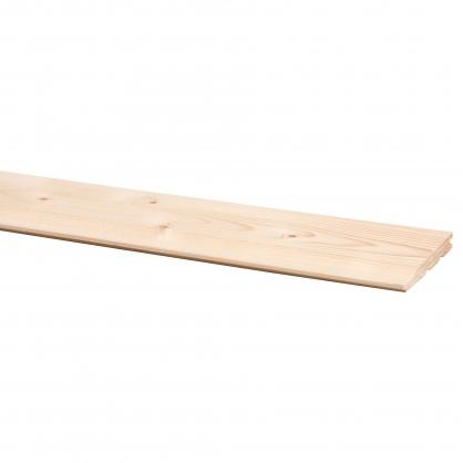 Lambris en bois de sapin Rabat 270 x 13,5 x 1,7 cm 5 pièces CANDO