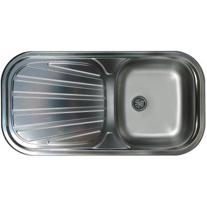 Évier de cuisine à encastrer 1 bac 86 x 43,5 x 14,5 cm ISIFIX