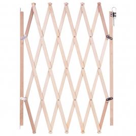 Barrière extensible en bois 60 à 108 cm