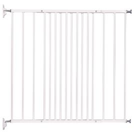 Barrière de sécurité réglable en métal Jules 62,5 à 106,5 cm