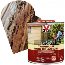 Traitement pour bois de jardin 2,5 L V33
