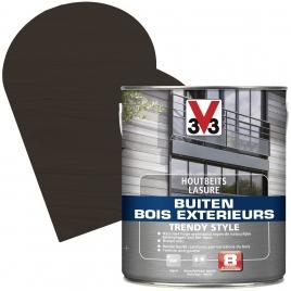 Lasure pour bois extérieur Trendy Style chêne graphite 2,5 L V33