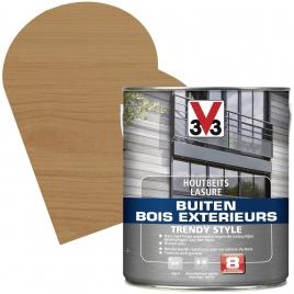 Lasure pour bois extérieur Trendy Style cèdre vieilli 2,5 L V33