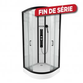 Cabine de douche Urban ronde 90 x 90 x 230 cm AURLANE
