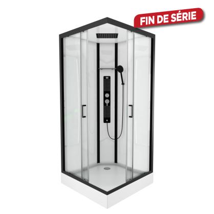 Cabine de douche Urban carrée 90 x 90 x 230 cm AURLANE
