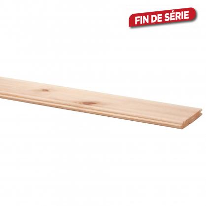 Lambris en bois de pin Perle 270 x 8,8 x 1,2 cm 10 pièces CANDO
