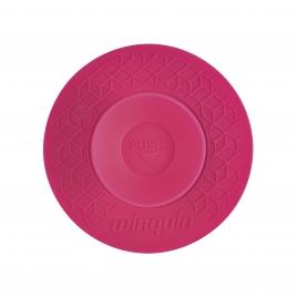 Bouchon universel Uppy 2 en 1 Ø 110 mm rose WIRQUIN