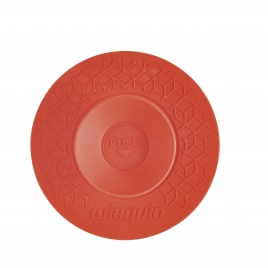 Bouchon universel Uppy 2 en 1 Ø 110 mm rouge WIRQUIN