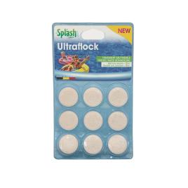 Tablette pour piscine Ultraflock 9 pièces SPLASH
