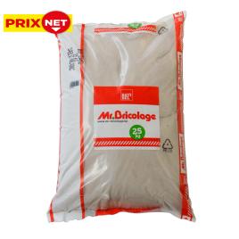 Palette 40 sacs Sable blanc Mr.Bricolage 0 à 1 mm 25 kg (livraison à domicile)