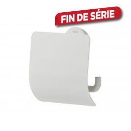 Porte rouleau de papier toilette Urban avec couvercle blanc TIGER