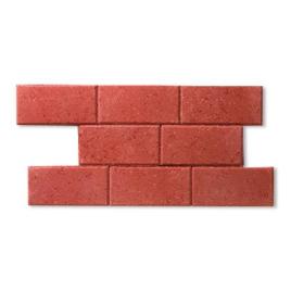 Palette 560 Pavés rouges en béton 22 x 11 x 5 cm (livraison à domicile)