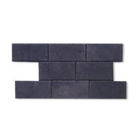 Palette 560 Pavés noirs en béton 22 x 11 x 5 cm (livraison à domicile)