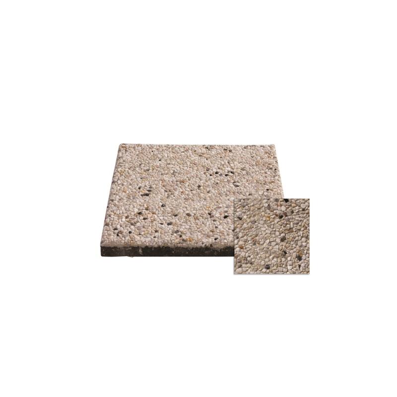 Palette 112 Dalles De Terrasse Silex Blanc 6 8 40 X 40 X 4 Cm