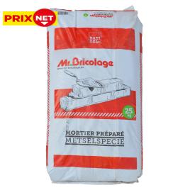 Palette 48 sacs Mortier préparé 25 kg MR.BRICOLAGE (livraison à domicile)