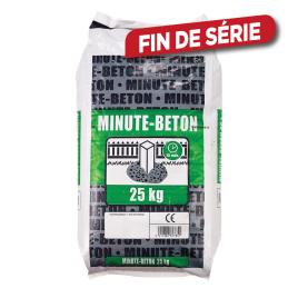 Palette 48 sacs Minute Béton 25 kg (livraison à domicile)