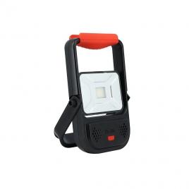 Projecteur extérieur rechargeable 10 W 800 lm XANLITE