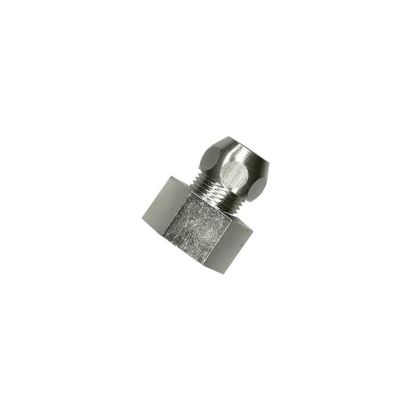 15 mm x 8 mm Chrome réduction Raccords-Pack de 2